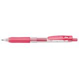 ゼブラ サラサクリップ 1.0mm JJE15-SR シャイニーレッド│ボールペン 水性ボールペン