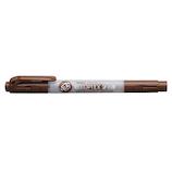 ゼブラ 蛍光オプテックス2-EZ WKT11‐E 茶│マーカー・サインペン 蛍光ペン