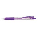 ゼブラ サラサクリップ 0.4mm JJS15-PU パープル│ボールペン 水性ボールペン