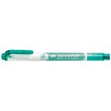 ゼブラ ジャストフィット 蛍光ペン WKT17 ブルグリーン