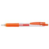 ゼブラ サラサクリップ 0.3mm JJH15-ROR レッドオレンジ│ボールペン 水性ボールペン