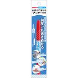 ゼブラ 水拭きで消せるマッキー細 P−WYTS17−R レッド│マーカー・サインペン サインペン・水性マーカー