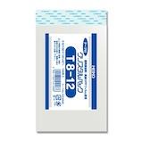 ヘイコー クリスタルパック テープ付き 100枚 T8-12│梱包資材 ビニール袋・ポリ袋