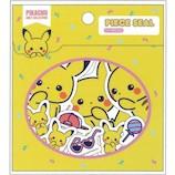 サンスター文具 PIKACHU GIRLY COLLECTION ピースシール S8580685