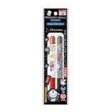 ショウワノート ドラえもん フリクションボールノック 0.5mm 2色セット 584214005 ドラえもん レッド・ブラック│ボールペン 消せるボールペン