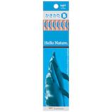 トンボ鉛筆 ハローネイチャー かきかた鉛筆 B KB‐KHNDLB ドルフィン 12本入り