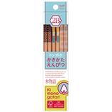 トンボ かきかた鉛筆F01水色2B KB−KF012B