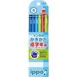 トンボ ippo! 低学年用 かきかた鉛筆 B 六角軸 MP−SKPM03−B