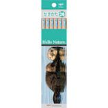 トンボ鉛筆 ハローネイチャー かきかた鉛筆 2B KB‐KHNSO2B ラッコ 12本入り