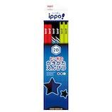 トンボ鉛筆 イッポ(ippo!) かきかたえんぴつ 2B KB-KRM04-2B プリントボーイ│鉛筆・鉛筆削り 鉛筆
