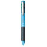トンボ鉛筆 リポータースマート 4色ボールペン 0.5mm BC−FRLE42 ライトブルー