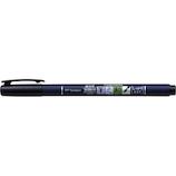 トンボ鉛筆 筆之助 筆文字水性サインペン しっかり仕立て WS-BH 墨│マーカー・サインペン サインペン・水性マーカー