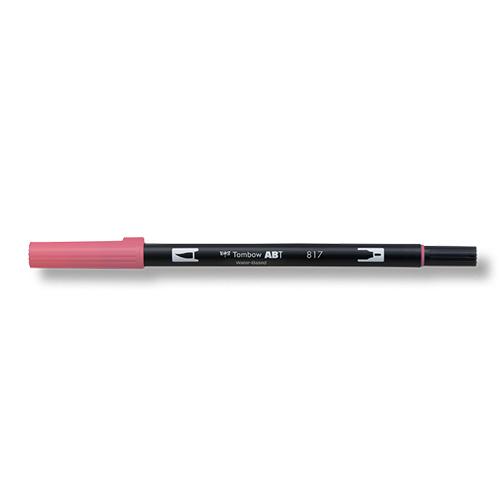 トンボ鉛筆 デュアルブラッシュペン AB−T817 Mauve
