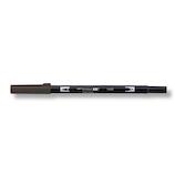 トンボ鉛筆 デュアルブラッシュペン AB−TN49 Warm gray 8