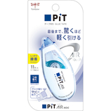 トンボ鉛筆 ピット(PiT) エアーミニ テープのり つめ替えタイプ PN−CAS スタンダード│のり テープのり