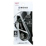 トンボ鉛筆 MONO 修正テープ モノエアー5C スポーティーカラー 5mm幅 CT-CA5C11 フルブラック│消しゴム・修正液 修正液・インク消し