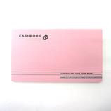 ダイゴー 通帳型キャッシュブック ピンク J1139