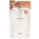 sugami クレンジングシャンプー 詰替 320g│シャンプー