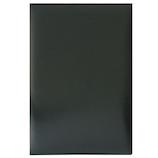 ナカバヤシ 証書ファイル ビニールクロス FSL-A4 A4 黒│展示・ディスプレイ用品 メニューブック