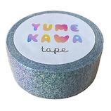 花岡 YUMEKAWAテープ 4109880 グリッターブルー