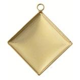 パジコ 金属製台座 セッティング シンプルダイヤ ゴールド