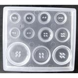 パジコ ソフトモールド ボタン│粘土細工 粘土ヘラ・成形道具