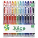 パイロット Juice ゲルインキボールペン 極細0.5mm 12colors