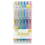 パイロット Juice ゲルインキボールペン 極細0.5mm メタリックカラー 6色セット