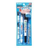 パイロット 布書きペン なまえペン2役 2本セット ミニ文字テンプレート付き EF