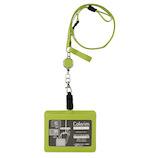 パイロット(PILOT) カラリムパーキー IDケース(ストラップ付) ICカード対応 CRIDS-02-LG ライトグリーン│名札・カードホルダー 名札ケース・IDカードケース