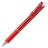ぺんてる ビクーニャ フィール_単色ボールペン BXB115-B 赤│ボールペン 油性ボールペン