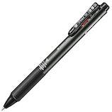 ぺんてる ビクーニャ フィール 多機能ペン2+S メタリックブラック BXWB355MA 黒 赤│ボールペン 多機能ペン