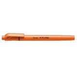 ぺんてる フィットライン SLW11-F オレンジ│マーカー・サインペン 蛍光ペン