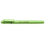 ぺんてる フィットライン SLW11-K ライトグリーン│マーカー・サインペン 蛍光ペン