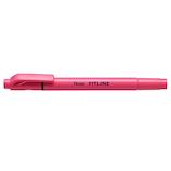 ぺんてる フィットライン SLW11-P ピンク│マーカー・サインペン 蛍光ペン