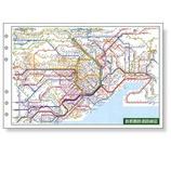 レイメイ ダヴィンチ 広域鉄道路線図 DR353