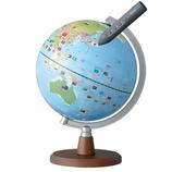 レイメイ しゃべる国旗付地球儀スタンダード OYV46│雑貨 地球儀・地図