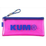 KUM クリアペンケース KM178P ピンク