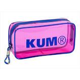 KUM クリアペンポーチ KM175P ピンク