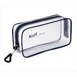 KEPT ケプト クリアペンポーチ KPF902K ネイビー│ペンケース ペンケース・筆箱