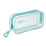 KEPT ケプト クリアペンポーチ KPF902H ライトブルー│ペンケース ペンケース・筆箱