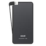 マクセル Lightningコネクタ専用 モバイルバッテリー 軽薄 MPC‐RTL3000PBK ブラック