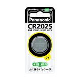 パナソニック コイン形リチウム電池  CR2025P 3V