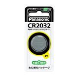 パナソニック コイン形リチウム電池 CR2032P 3V