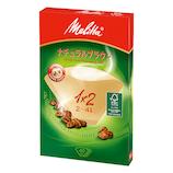 メリタ アロマジック ナチュラルブラウン 1×2 40枚入│茶器・コーヒー用品 コーヒードリッパー・フィルター
