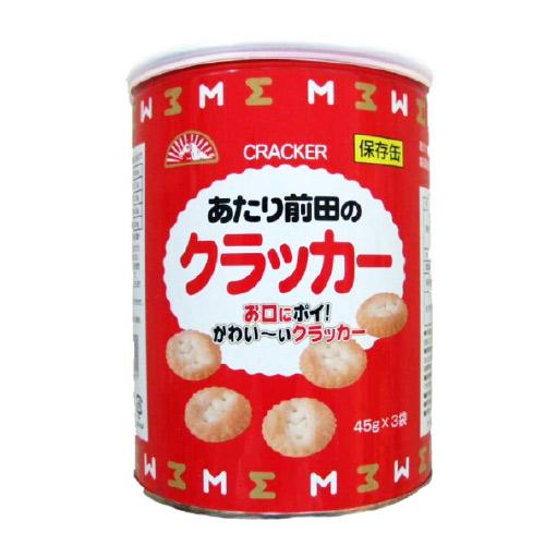 前田製菓 あたり前田のクラッカー 保存缶