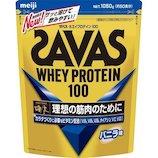 ザバス(SAVAS) ホエイプロテイン100 CZ7417 1050g バニラ味│ダイエット・健康グッズ プロテイン