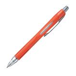 三菱鉛筆 ジェットストリーム ラバーボディータイプ メタリックオレンジ