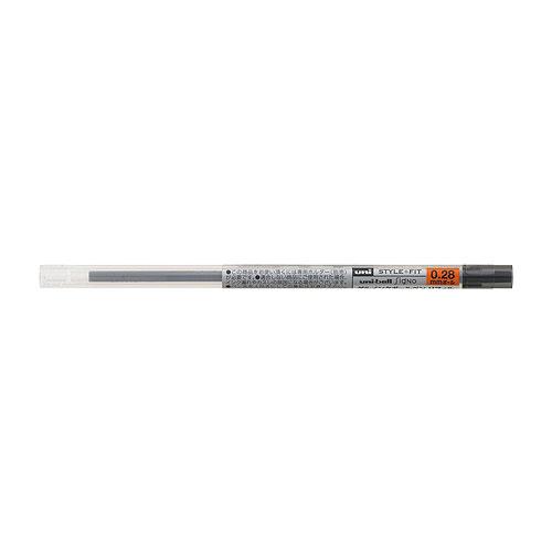 三菱鉛筆 スタイルフィット ゲルインクボールペン UMR-109 リフィル 0.28mm ブラック