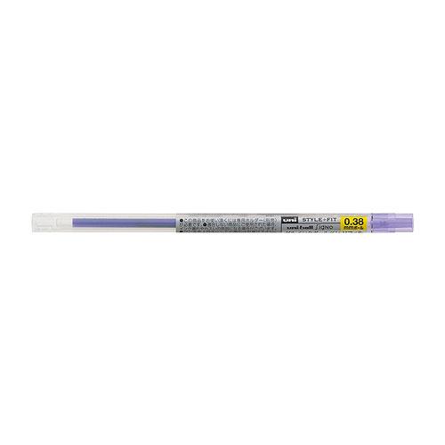 三菱鉛筆 スタイルフィット リフィル ゲルインクボールペン リフィル (ユニボール シグノ) UMR-109 0.38mm バイオレット
